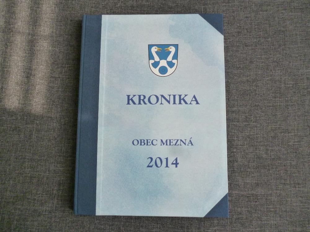 Kronika obce 2014